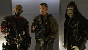 Deadshot, Rick Flag and Killer Croc