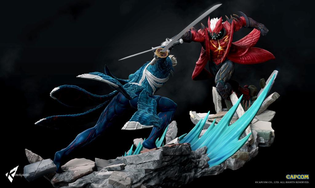 Devil May Cry Dante Vs Vergil Diorammas Devil May Cry