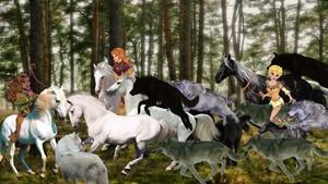 Dewshine Nightfall and Tyleet had captured Beautiful Wild Kuda