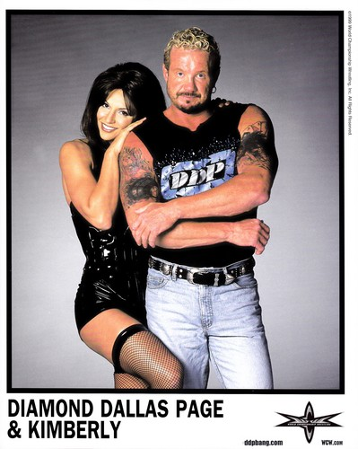 World Championship Wrestling 壁纸 entitled Diamond Dallas Page With Kimberly 照片 1