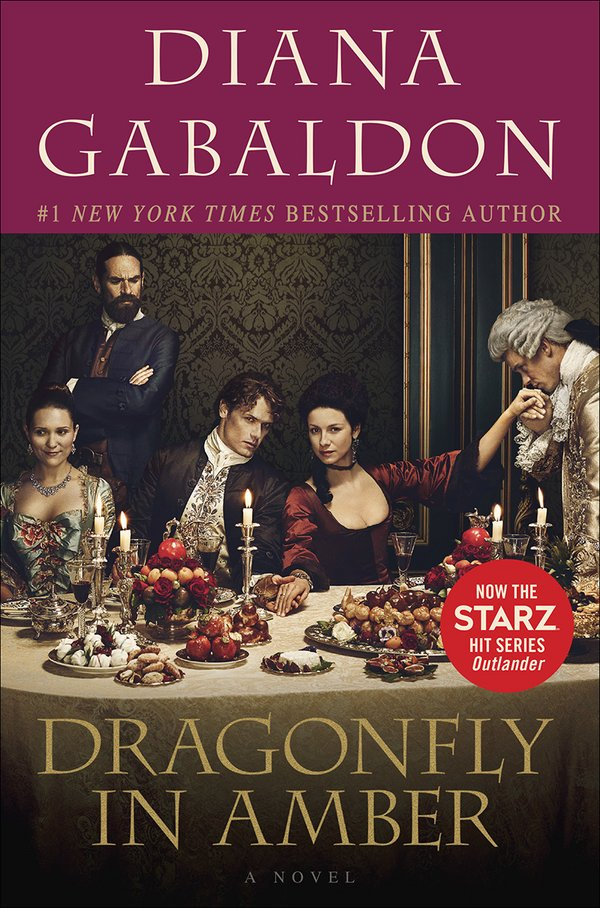 Book Cover Series Tv : Dragonfly in amber tie book cover edition outlander