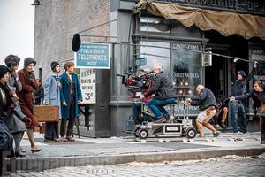 Eddie Remayne as Newt Scamander Behind The Scenes