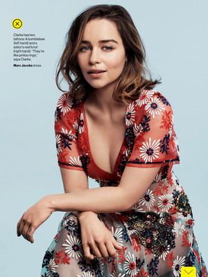 Emilia for Glamour US