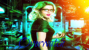 Emily Bett Rickards as Felicity Smoak kertas dinding