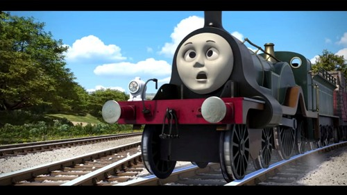 Thomas the Tank Engine achtergrond called Emily Bubbling Boilers