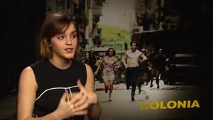 Emma Watson Interview for Colonia