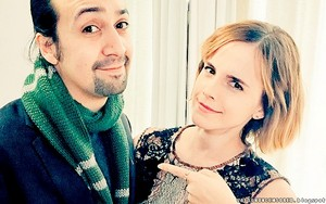 Emma and Lin-Manuel Miranda in NYC [March 10, 2016]