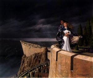 Eowyn and Faramir par Ted Nasmith