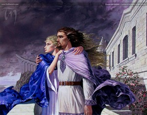 Eowyn and Faramir by Ted Nasmith
