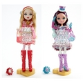 Ever After High Epic Winter manzana, apple White and Madeline Hatter muñecas