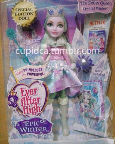 Ever After High wallpaper titled Ever After High Epic Winter Crystal Winter doll