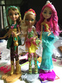 Ever After High Jillian,Nina and Meeshell Puppen