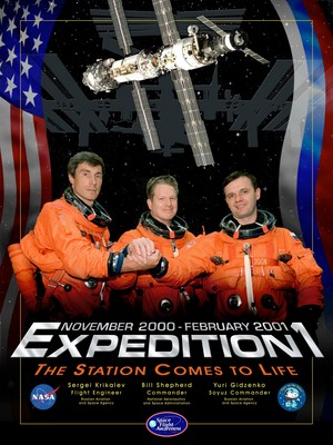 Expedition 1 Mission Poster