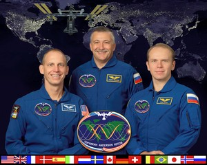 Expedition 15 Mission Crew