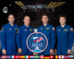 Expedition 17 Mission Crew