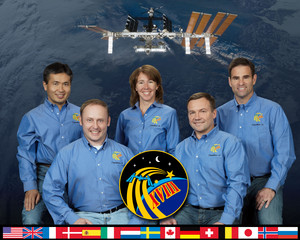 Expedition 18 Mission Crew