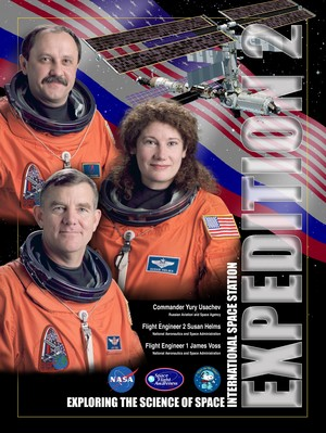 Expedition 2 Mission Poster