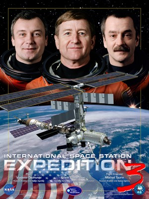 Expedition 3 Mission Poster