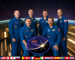 Expedition 35 Mission Crew