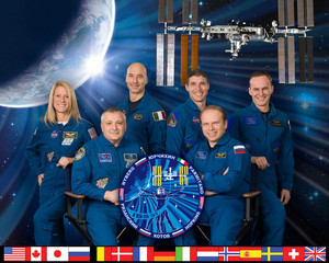 Expedition 37 Mission Crew