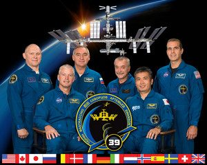 Expedition 39 Mission Crew