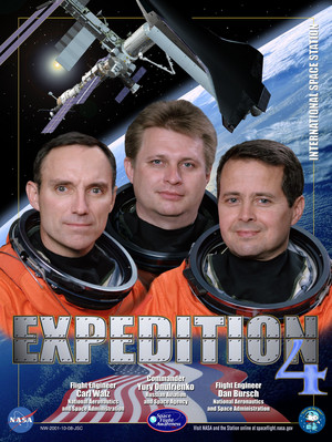 Expedition 4 Mission Poster