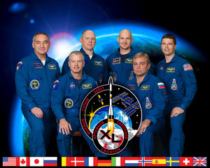 Expedition 40 Mission Crew