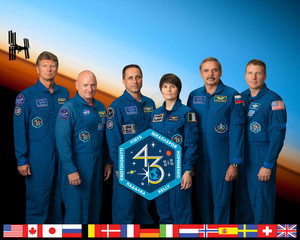 Expedition 43 Mission Crew