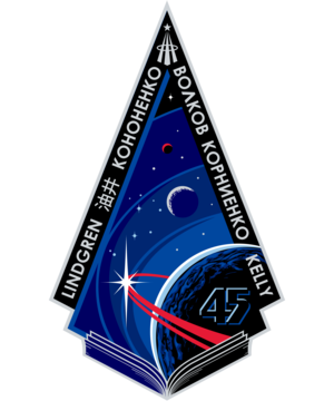 Expedition 45 Mission Patch