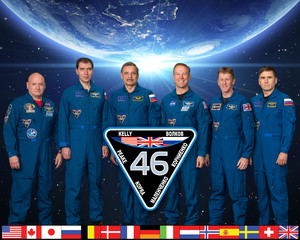 Expedition 46 Mission Crew