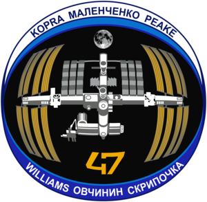 Expedition 47 Mission Patch