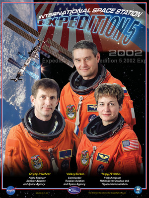 Expedition 5 Mission Poster