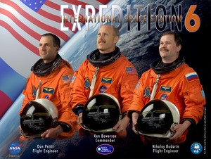 Expedition 6 Mission Poster