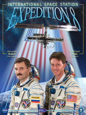 Expedition 8 Mission Poster