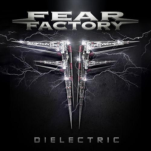 Fear Factory Hintergrund possibly with a sign entitled Fear Factory Dielectric