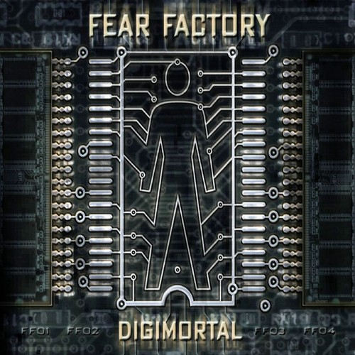 Fear Factory 壁纸 called Fear Factory Digimortal Limited Edition