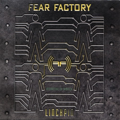 Fear Factory kertas dinding titled Fear Factory Linchpin Interactive CD Sampler