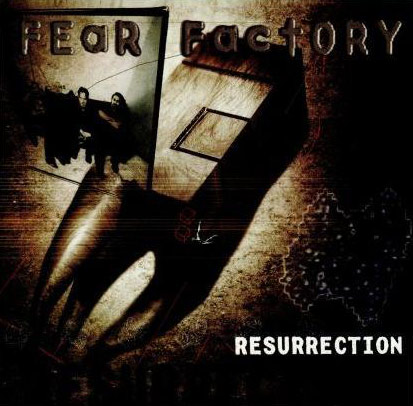 Fear Factory fond d'écran possibly with a street, a sign, and animé called Fear Factory Resurrection