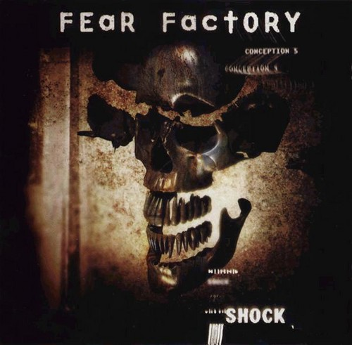 Fear Factory Hintergrund possibly containing Anime entitled Fear Factory Shock