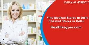 Find Medical Stores in Delhi
