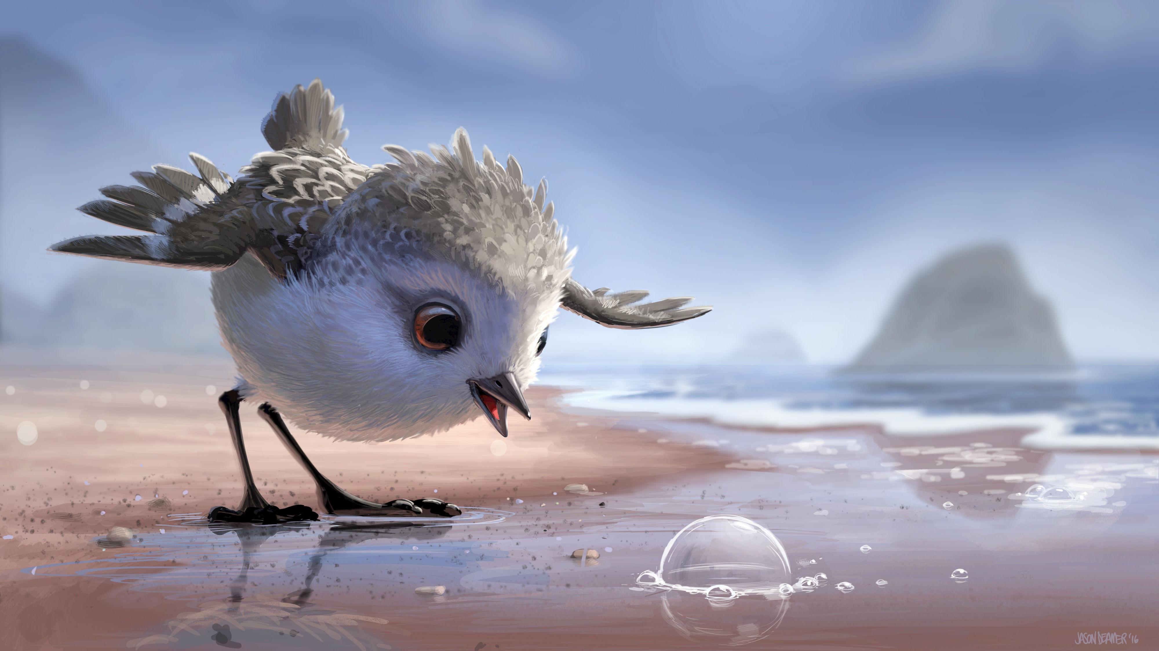 First Look at Pixar's Short Film 'Piper'