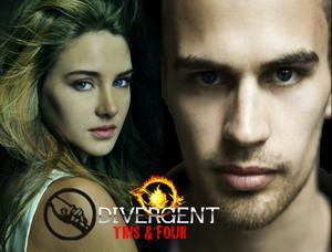 Four/Tris Обои