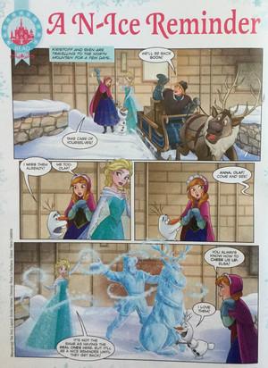 ফ্রোজেন Comic - A N-Ice Reminder
