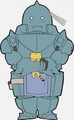 Fullmetal Alchemist chibi Alphonse Elric  - anime photo