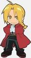 Fullmetal Alchemist chibi Edward Elric  - anime photo