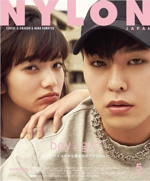 G-Dragon for 'Nylon'
