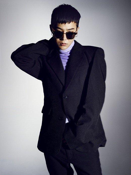 G-Dragon for 'Nylon'