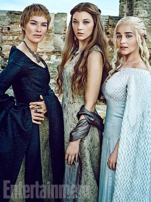 Lena Headey, Natalie Dormer, and Emilia Clarke