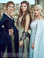 Lena Headey, Natalie Dormer, and Emilia Clarke - game-of-thrones photo