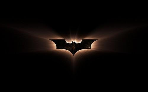 batman wallpaper containing a air mancur titled Glowing Logo